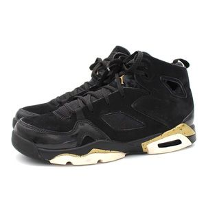 Nike Jordan Flight Club '91 Black Gold Size 7Y